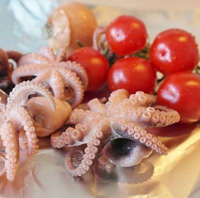 curry di calamari al cocco