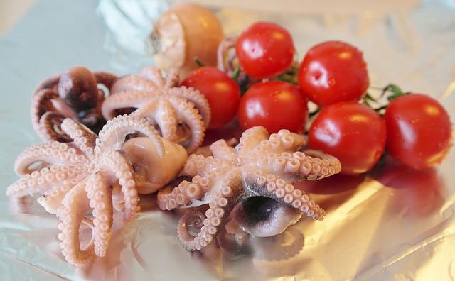 Curry di calamaretti al cocco