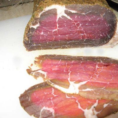 bresaola home made pronta da affettare