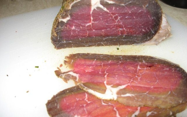 Bresaola home-made