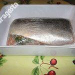 filetti di salmone ben impacchettati