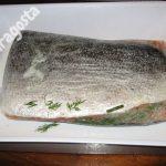 salmone in marinatura