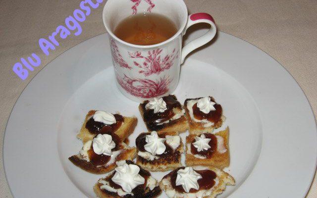 L'ora del tè…che fare con un ospite improvviso e niente dolcetti in casa?