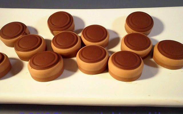 Cremini ai tre cioccolati