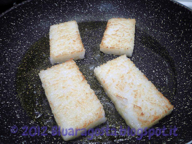 mattonelle di riso in frittura