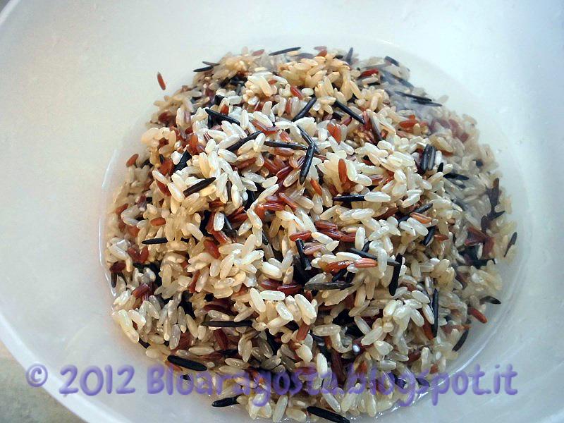 Quaglia con savarin di riso selvaggio e coulis di more
