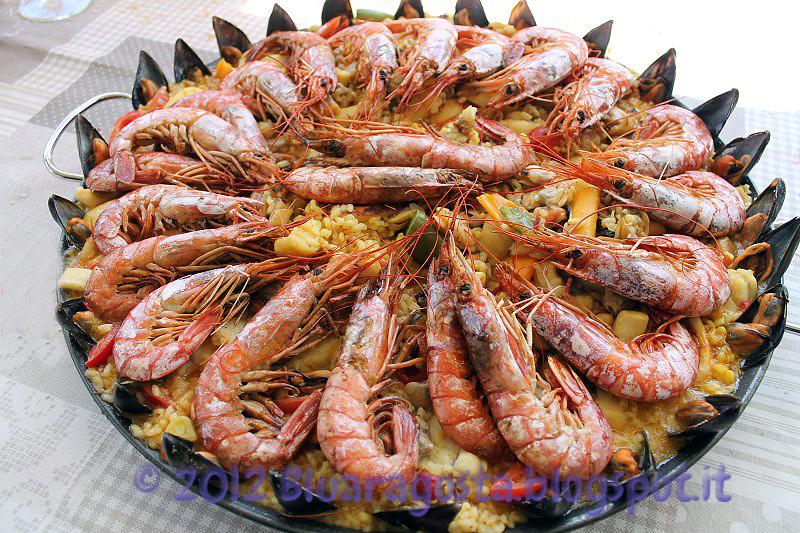 Paella de marisco: dalla Spagna con amore