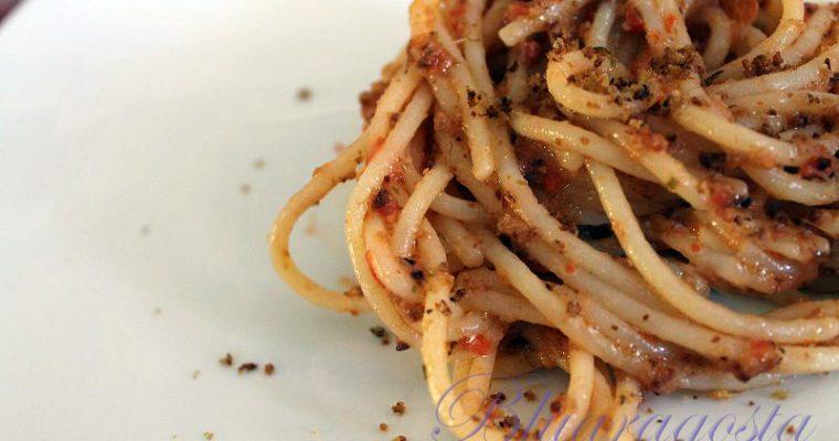 Spaghetti con le molliche