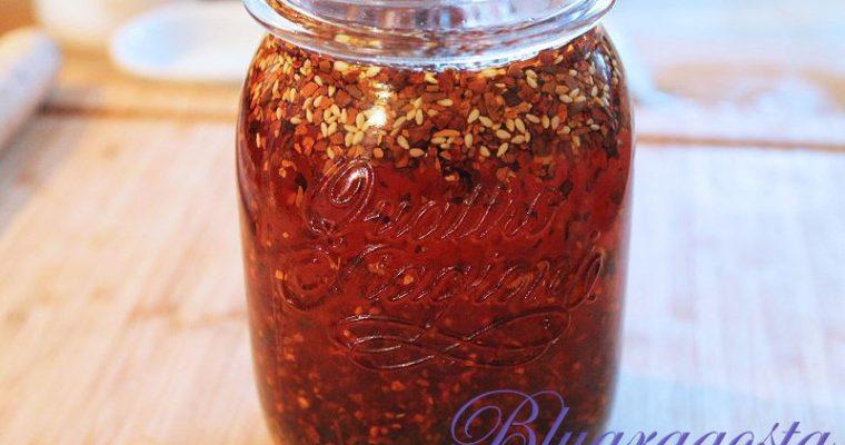Salsa al peperoncino cinese, chinese chili sauce