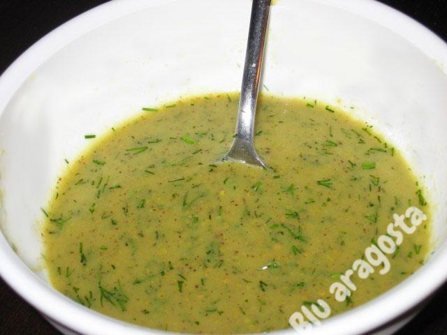 Salsa gravad lax