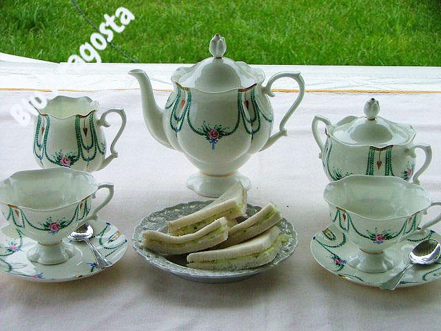 Tea time: le tartine al cetriolo di Miss Marple